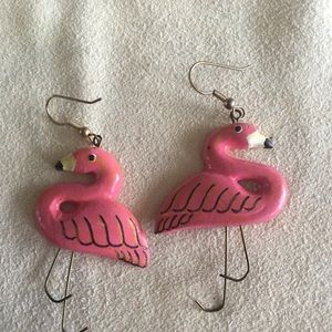 Jewelry - Flamingo Earrings